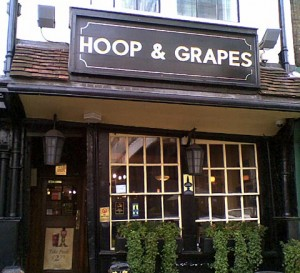 Hoop & Grapes, Aldgate