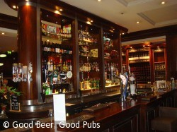 Bacchus, Newcastle - the central bar
