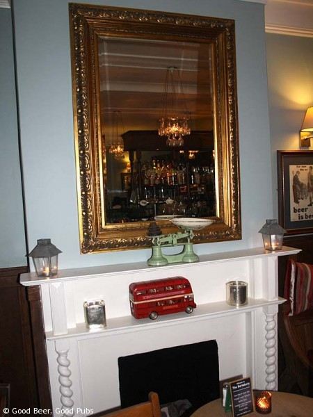 Inside the Barnsbury, Islington