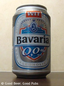 Bavaria 0,0 Wit in a 330ml can