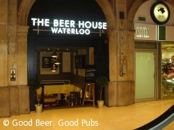 Beer House, Waterloo Station, London