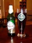 Bernard Free low alcohol beer at the Euston Tap