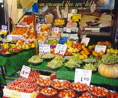 Fruit and Vegetables in Berwick Street Market