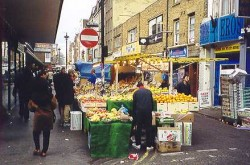 View of the southern end of Berwick Street
