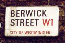 Berwick Street Sign