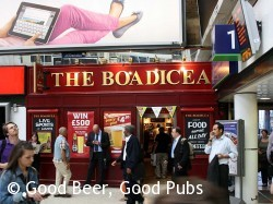 The Boadicea, Charing Cross Station
