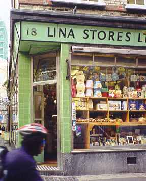 Lina Stores in nearby Brewer Street