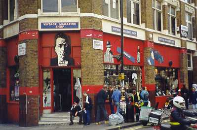 The Vintage Magazine Shop in nearby Brewer Street