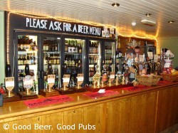 Picture of the Cask Pub and Kitchen, Pimlico - hand pumps on the bar