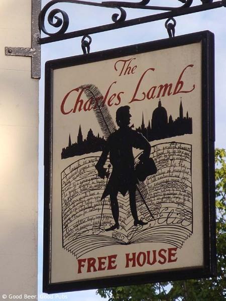 The Charles Lamb at Angel - Pub Sign