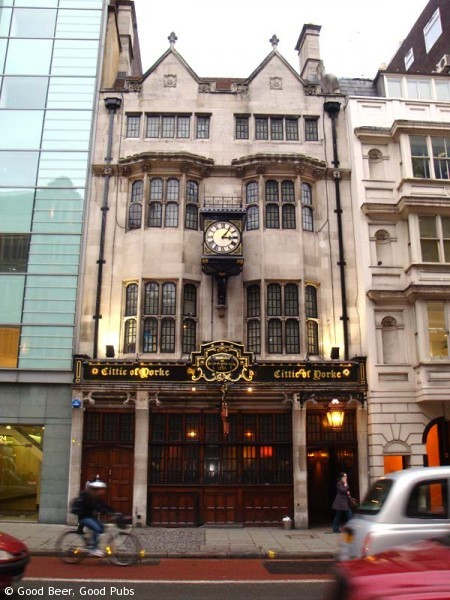 The Cittie of Yorke, Holborn