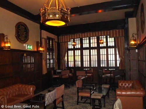 The Cittie of Yorke, Holborn - the front room
