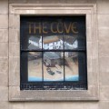 Cove Bar, Covent Garden – a pub sign in a first floor window?