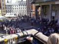 Cove Bar, Covent Garden – The balcony was a great place to watch the street entertainers on the Piazza