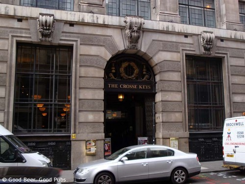 The Crosse Keys, Gracechurch Street