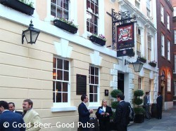 Photo of the Devereux pub at Temple, London
