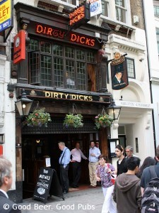 Dirty Dicks, Liverpool Street