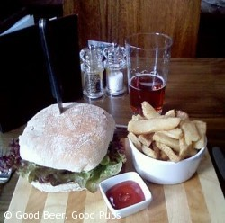 Lunch at the Dispensary, Aldgate