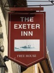 Photo of the Exeter Inn, Topsham, Devon - the pub sign