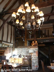 Photo of the interior of Gomshall Mill, Gomshall, Surrey