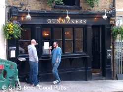 Photo of the Gunmakers pub in Clerkenwell