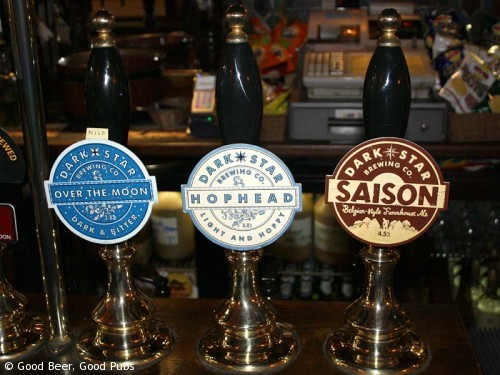 Picture of the Harp in Covent Garden - great Dark Star beers