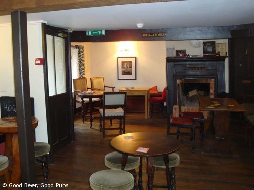 Photo of the interior of the Hyde Tavern , Winchester