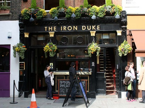 The Iron Duke, Mayfair, London