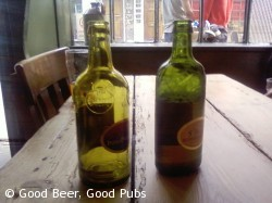 St Peters bottles at the Jerusalem Tavern, Farringdon