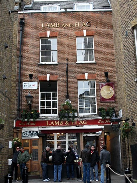 The Lamb and Flag, Covent Garden, London