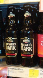 Lees Brewers Dark at Morrisons