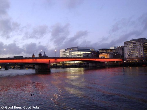 London Bridge at Dusk
