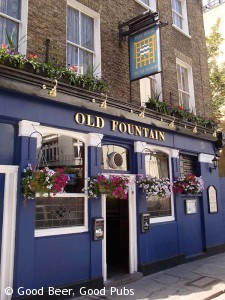 The Old Fountain near Old St tube station