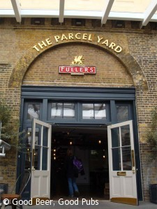 The Parcel Yard, Kings Cross