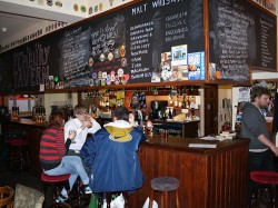 Picture of the Pembury Taven, Hackney: the bar