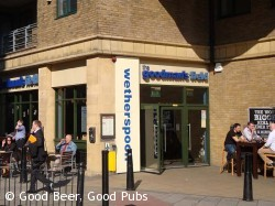 Photo of Goodmans Field pub in Aldgate, East London