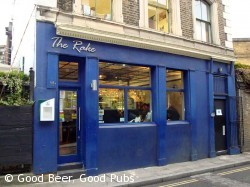 Picture of the Rake pub, Southwark