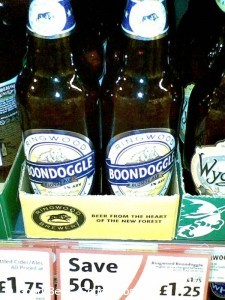 Picture of bottles of Ringwood Boondoggle beer