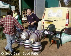 Surrey Hills beer on sale at Ripley Farmers Market