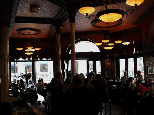 Inside the Round House, Covent Garden