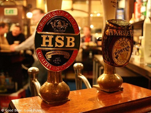 Gales HSB nestles up to some Harveys favourites in the Royal Oak, Borough
