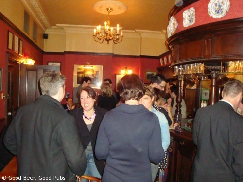 The Royal Oak, Borough - busy evening