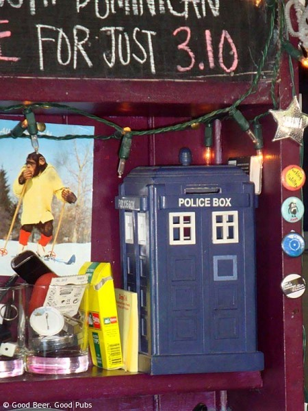 Tardis at the Shakespeare's Head, Brighton