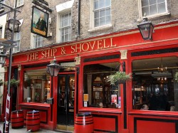 The Ship & Shovell, Charing Cross