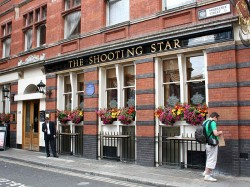 Shooting Star, Middlesex Street