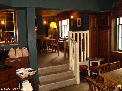 Interior of St James Tavern, Winchester