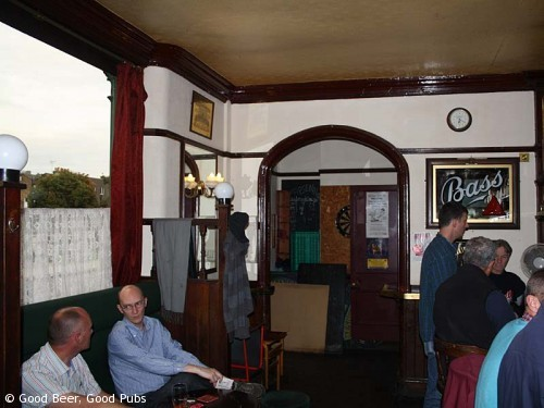 Inside the Wenlock Arms