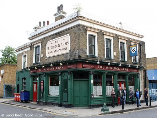 The Wenlock Arms, Hoxton - The classic exterior view