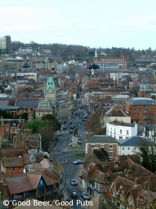 Winchester from St Giles Hill