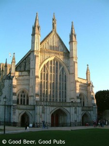 Winchester pub reviews good beer good pubs - Round table winchester cathedral ...
